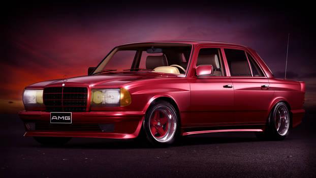 1984 Mercedes-Benz W123 6.0 AMG Wide-body