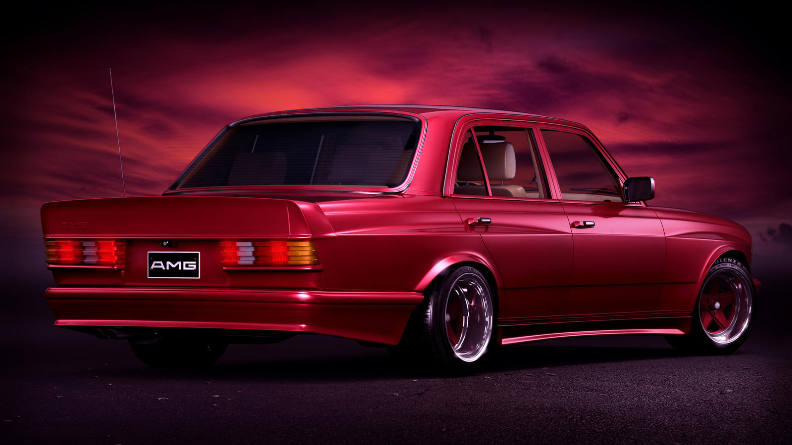 1984 mercedes benz w123 6 0 amg wide body by splicer436 on for Mercedes benz auto body