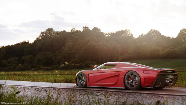 Koenigsegg Regera   CGI   3D Modeling