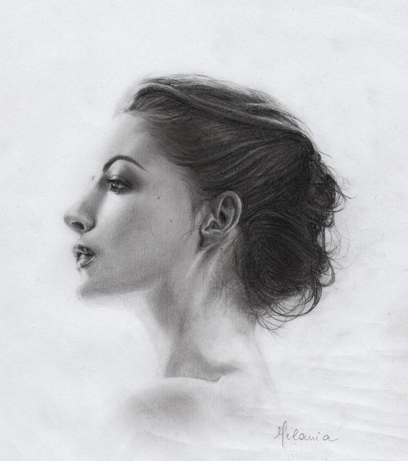 Anne Hathaway Drawing: Anne Hathaway By Mellam5 On DeviantArt