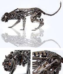 MECHANICAL BEAST by ironheartram