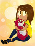 Me and Lotso by Emorephic