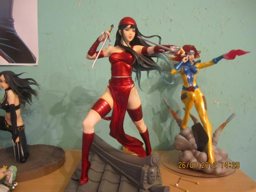 Pubg By Sodano On Deviantart: Marvel Bishoujo Elektra By Shinobi25 On DeviantArt