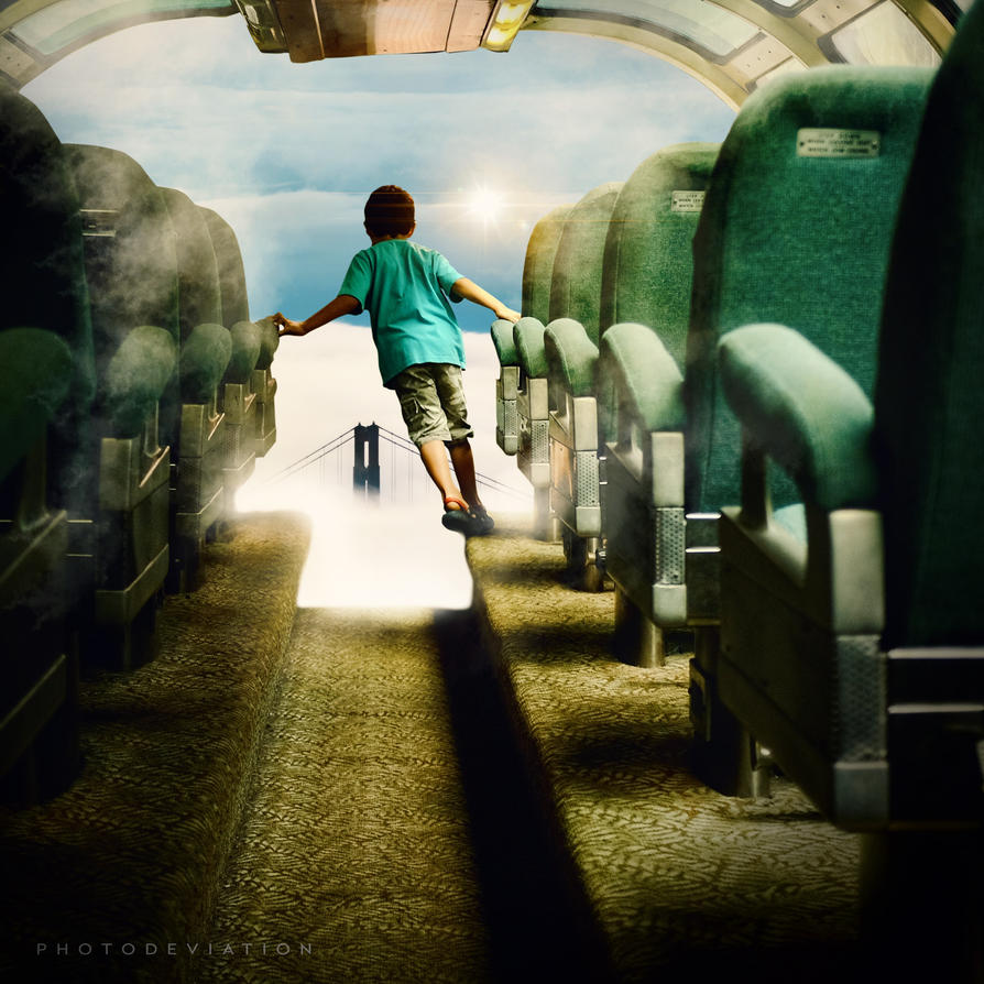 Enchanted School Bus. Remix. by PhotoDeviation