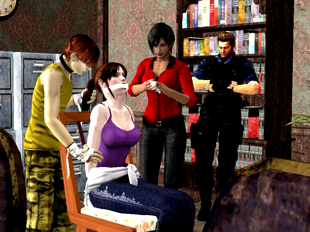resident evil leon and claire relationship test