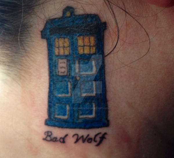 Doctor Who Tattoo By Metalchic79 On DeviantArt