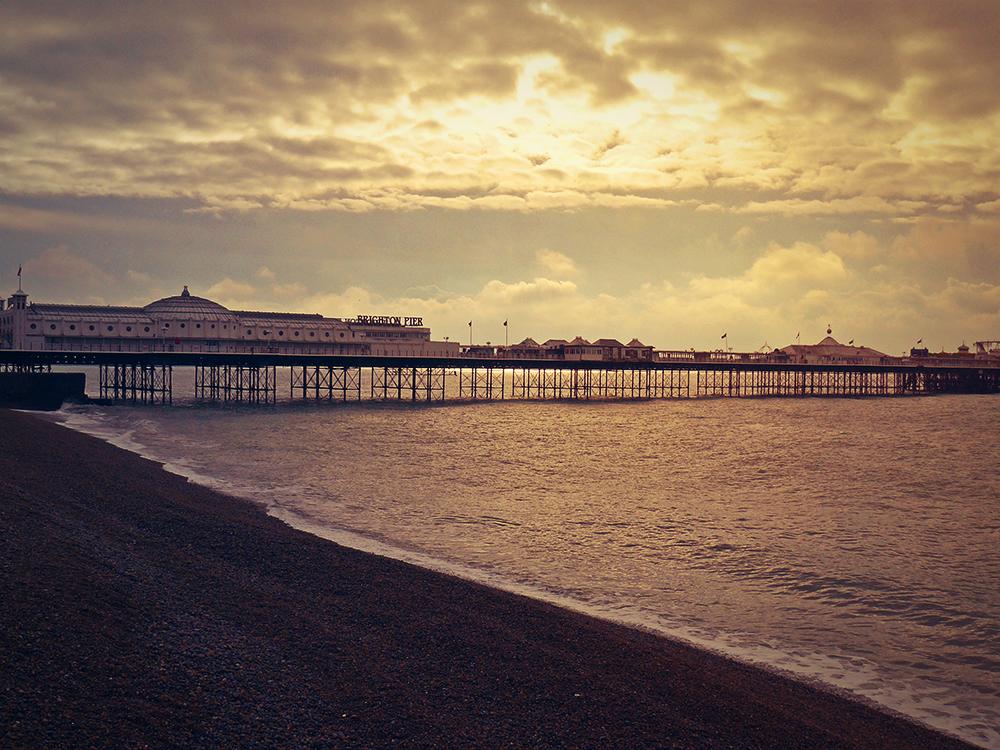 Brighton Pier by Raviscera
