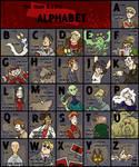 The T.D. Alphabet by Sheana