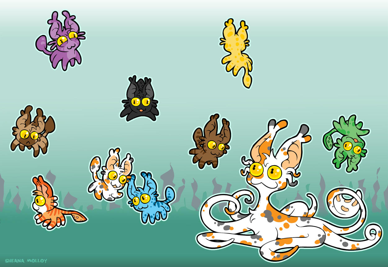 A Squirm Of Squittens by Sheana