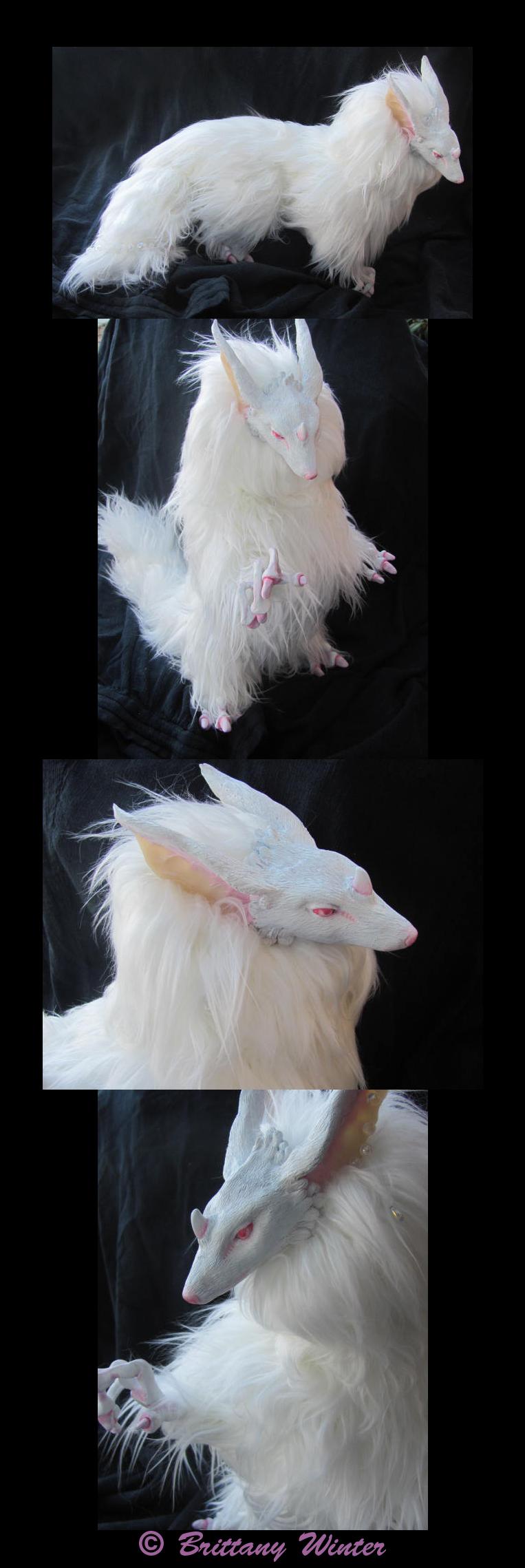 .:Seda- White Forest Spirit:. by PhantomCarnival