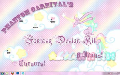 .:Fantasy Design Kit:. by PhantomCarnival