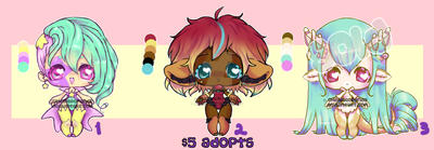 [Only 1 left] $5 Adopts by PhantomCarnival
