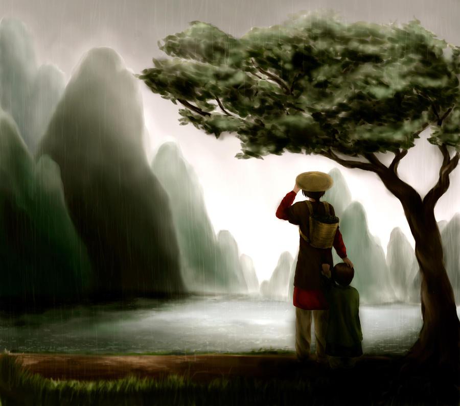 asian landscape by kuradamon on deviantart