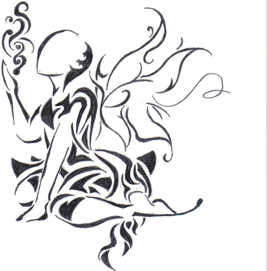 tribal fairy by fireryangel115 on deviantart. Black Bedroom Furniture Sets. Home Design Ideas