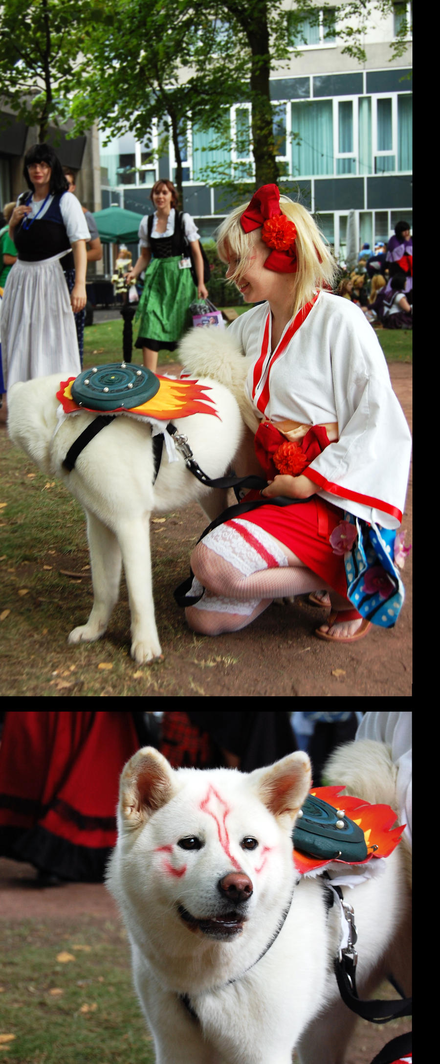 Connichi 2011: Okami by GilbertsBeer
