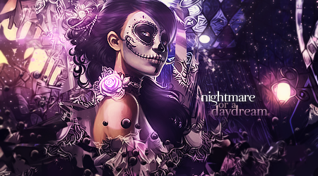 Nightmare or a Daydream [signature] by misyzherself