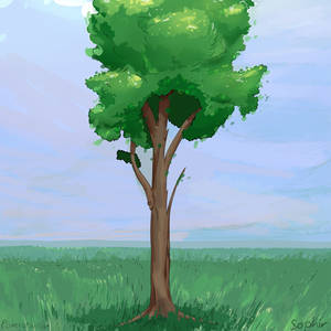 With A Tree