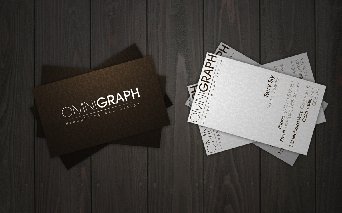 Omnigraph Business Cards 2 0 by big dan designs on DeviantArt