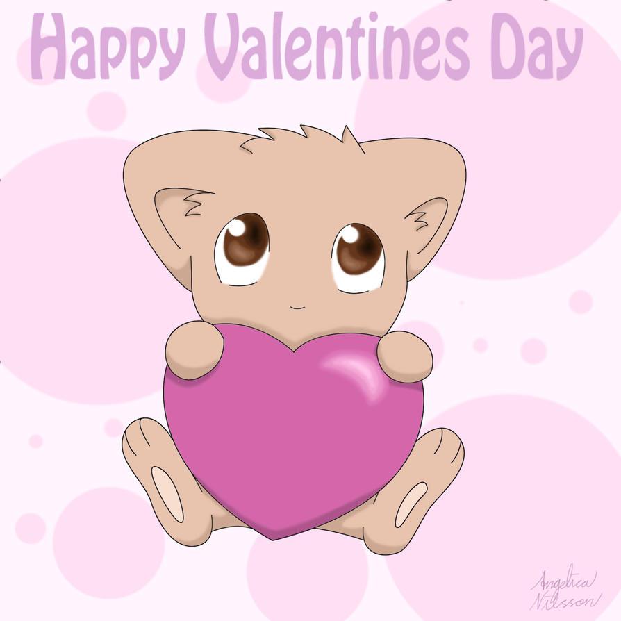 Happy Valentines Day by ShadowSilverfan1997