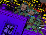 TMNT Issue 1 Cover Recreation (Colors)