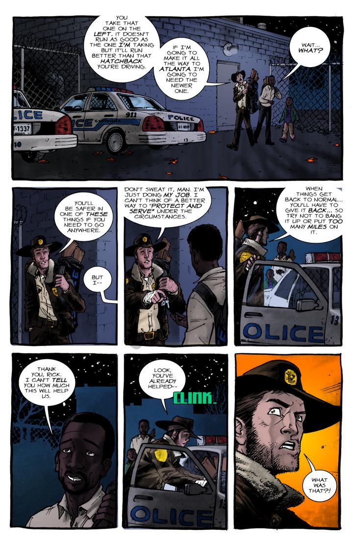 The Walking Dead: Days Gone Bye #1 - Pg.20 by villithorne