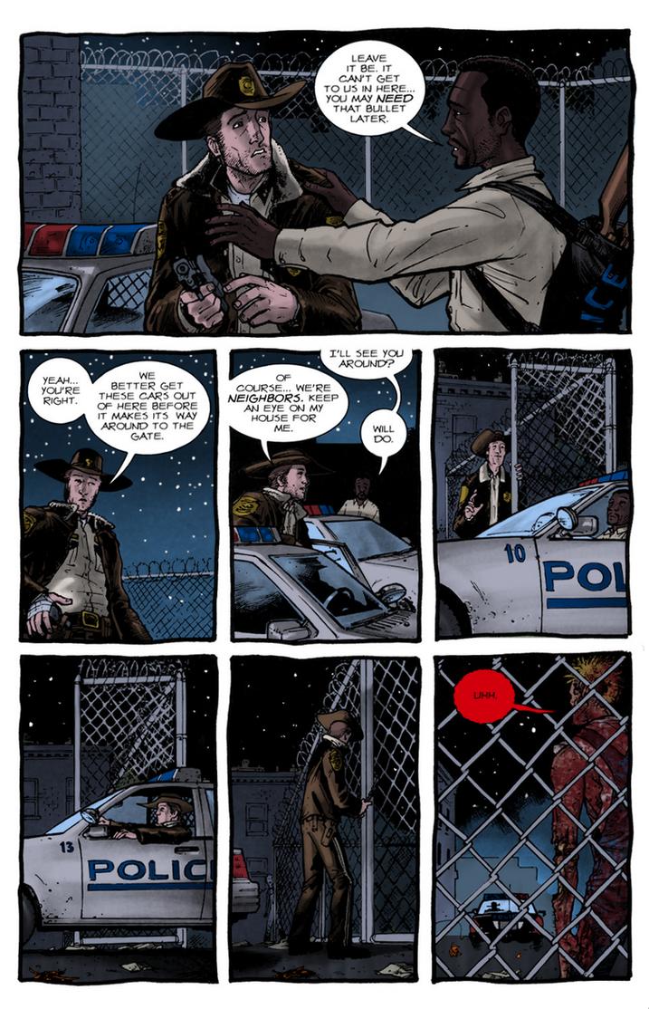 The Walking Dead: Days Gone Bye #1 - Pg.22 by villithorne
