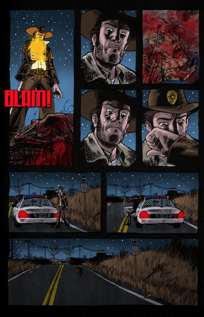 The Walking Dead: Days Gone Bye #1 - Pg.23 by villithorne