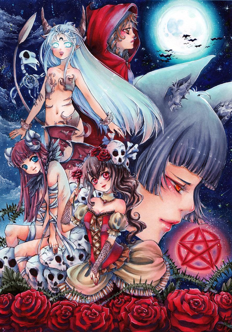 dark fantasy by MIAOWx3