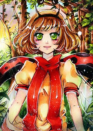 MAry the ladybug by MIAOWx3
