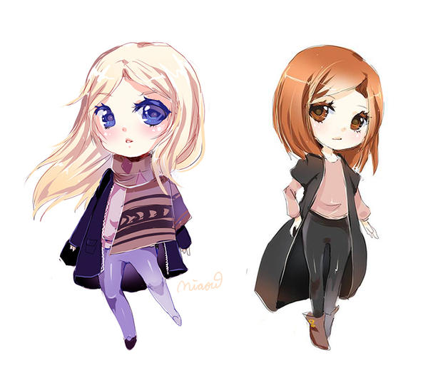 simple chibis by MIAOWx3
