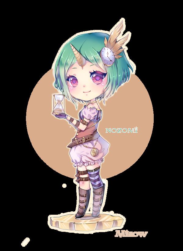 chibi commission nozomi by MIAOWx3