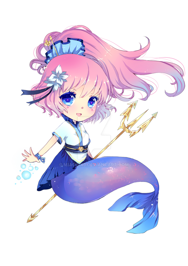 Mermaid Mascot For German Con By MIAOWx3 On DeviantArt