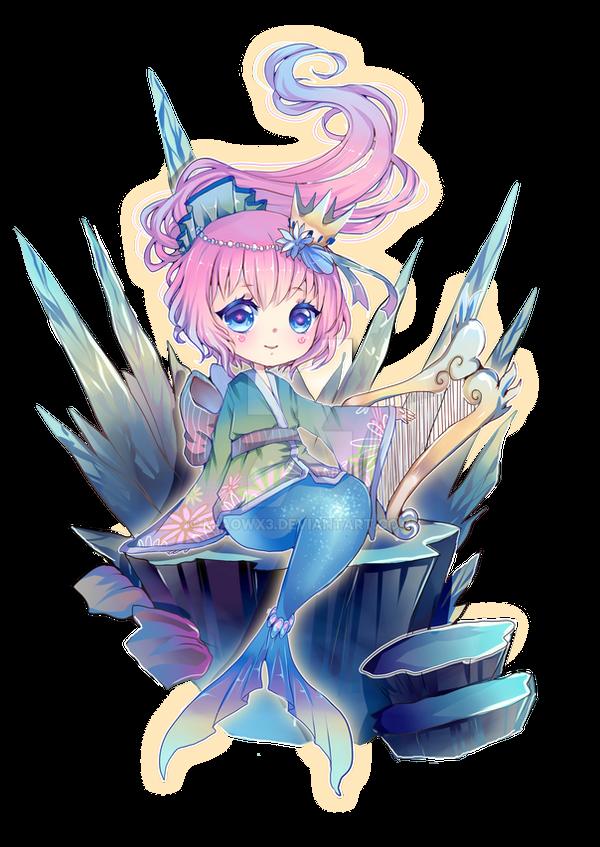 Mermaid Chibi By MIAOWx3 On DeviantArt