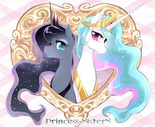 Princess SisterS by yuki-zakuro