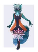 [Commissioned art] Sitri