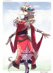 [Commissioned art] HorseGirl