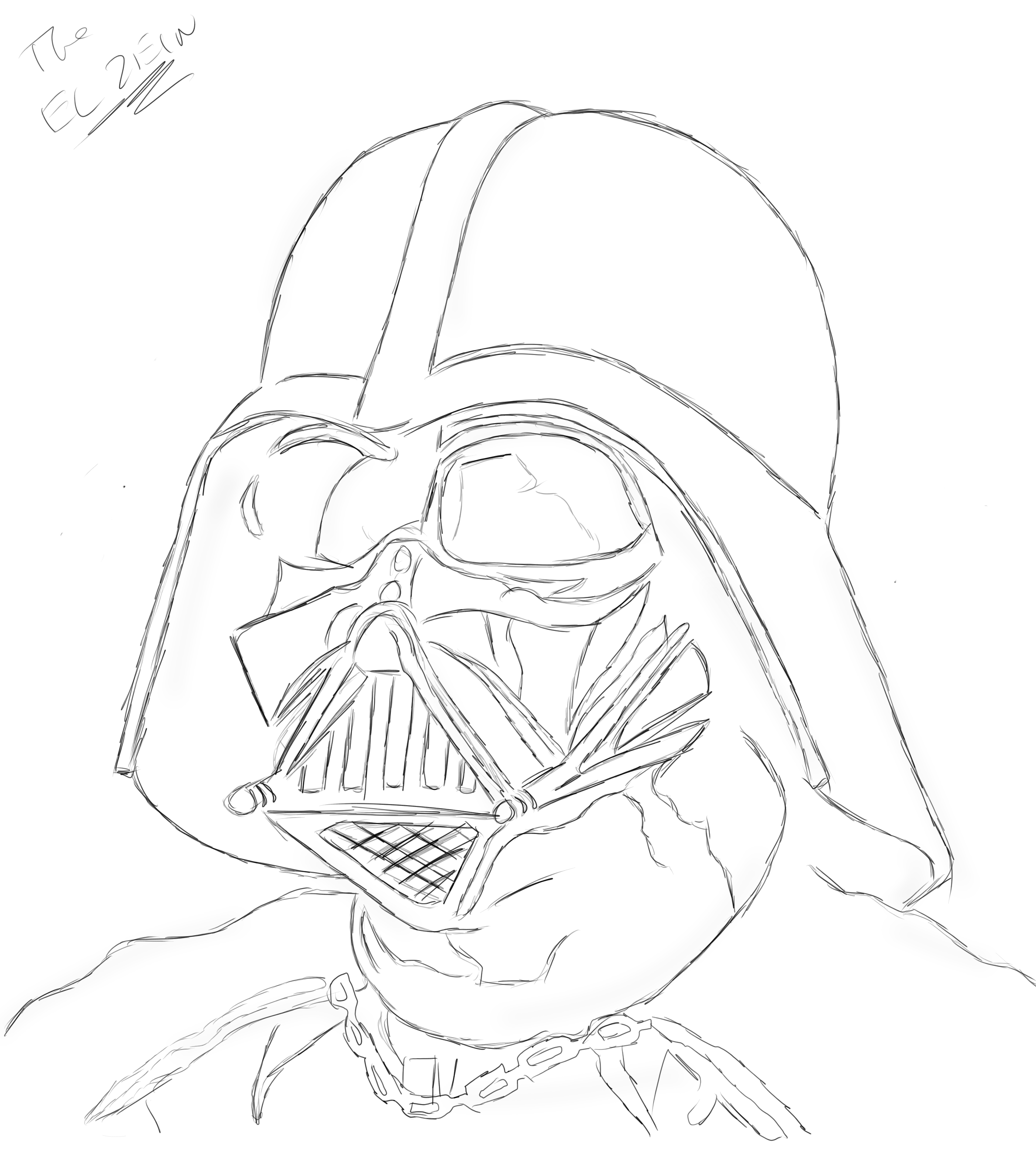 Image Result For Darth Vader Coloring