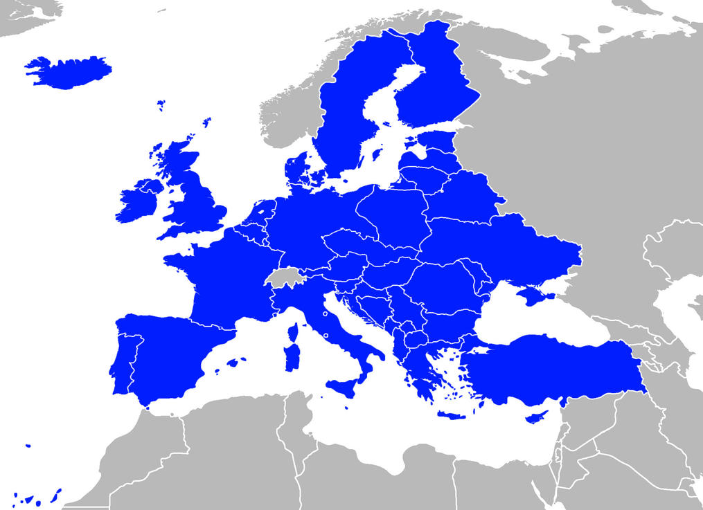 Future EU Map By GeneralHelghast On DeviantArt