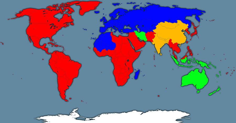American Bloodfury map by GeneralHelghast