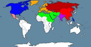 Fallout World map pre-war