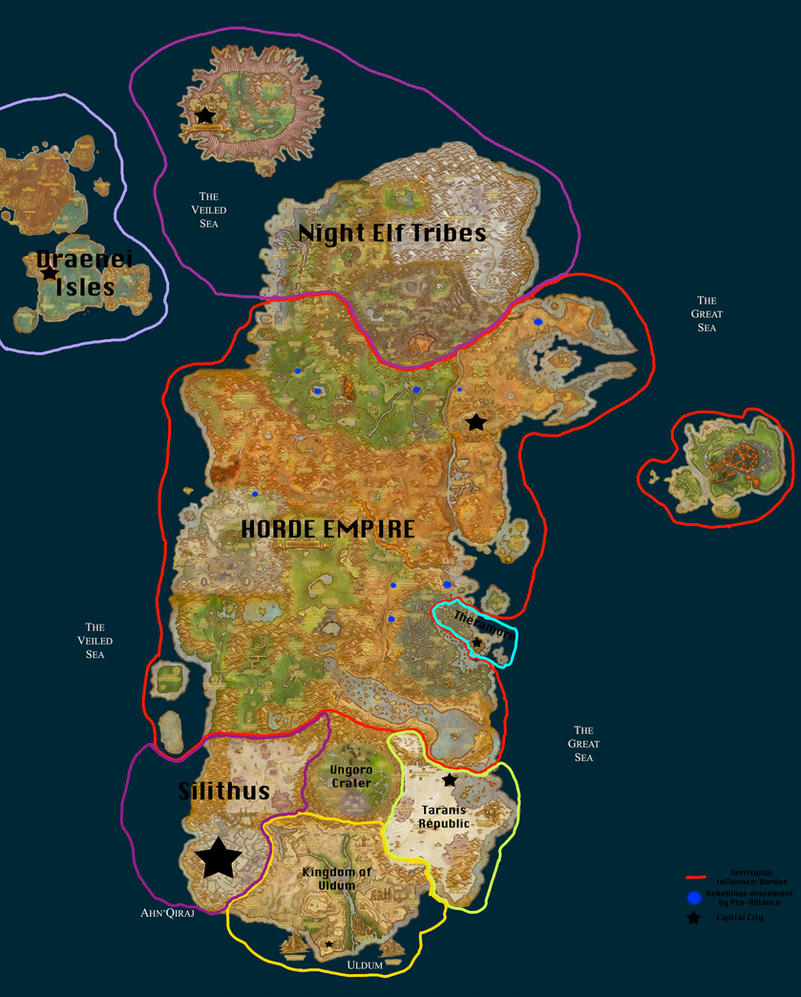 wow how to change regions