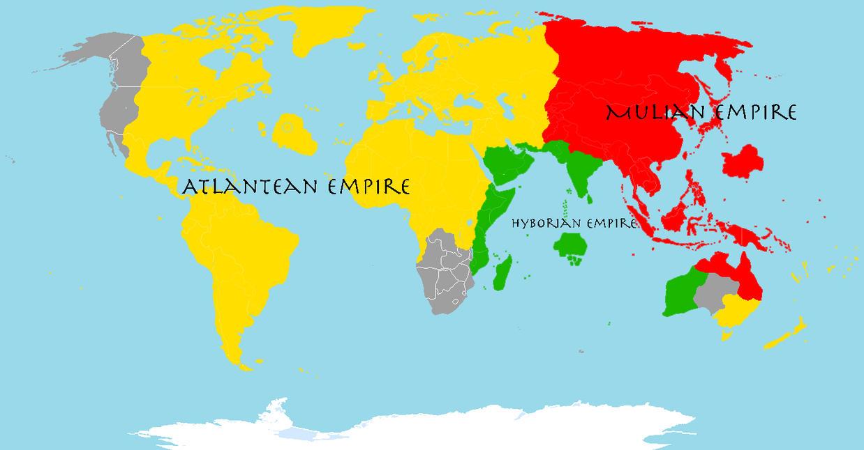 Pre-sumerian ancient world by GeneralHelghast
