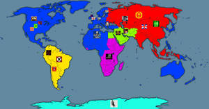 Deviant Wars Factions map by GeneralHelghast