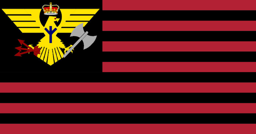 Flag of my American Empire by GeneralHelghast