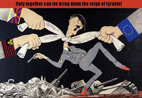 American Empire Anti-Fascist Prop. 2 by GeneralHelghast