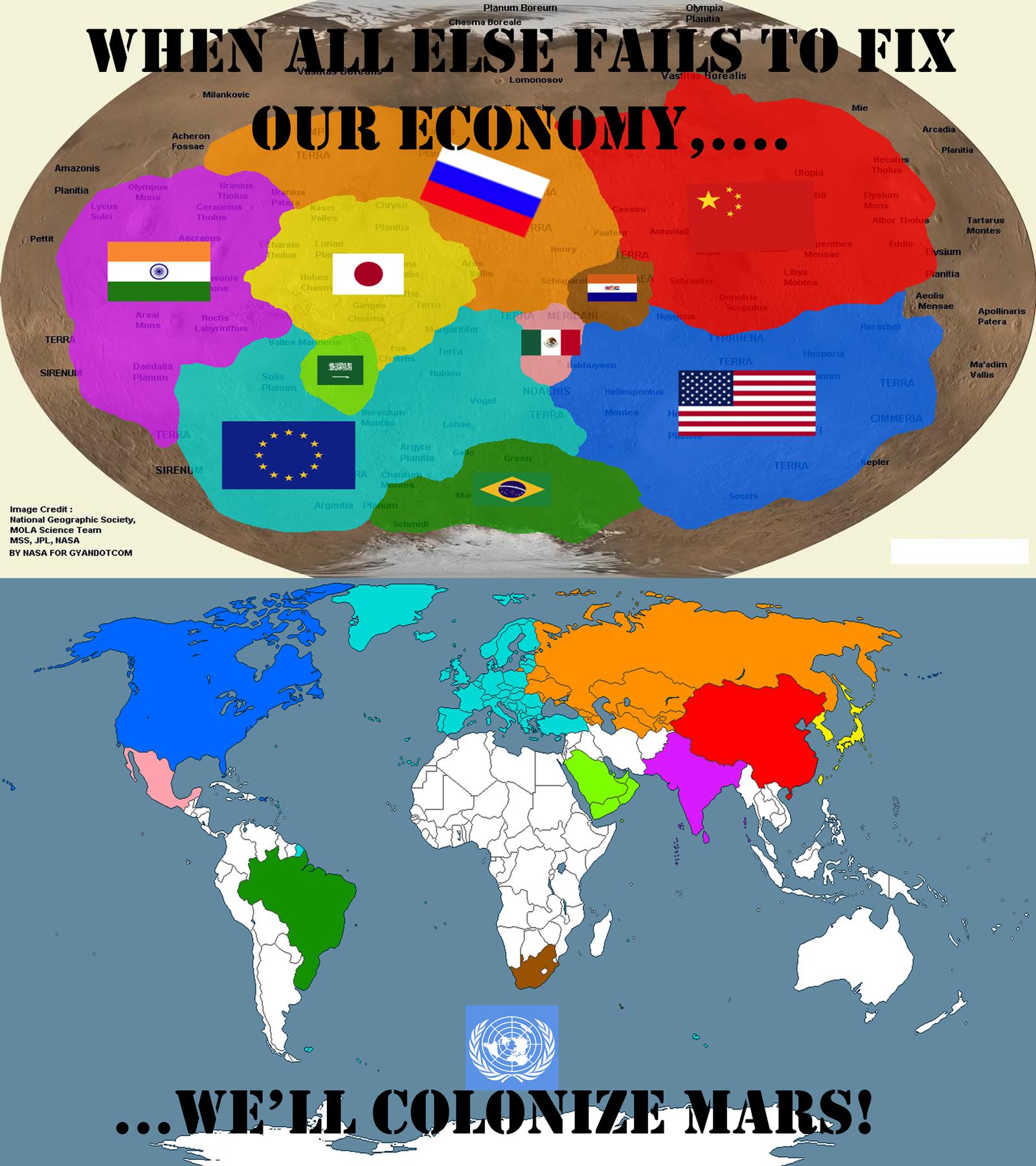 Colonize Mars 2050 Propaganda By Generalhelghast On Deviantart