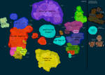political Map of WoW