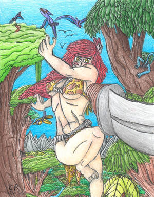 Jungle Yoko: Queen of Prehistora 8