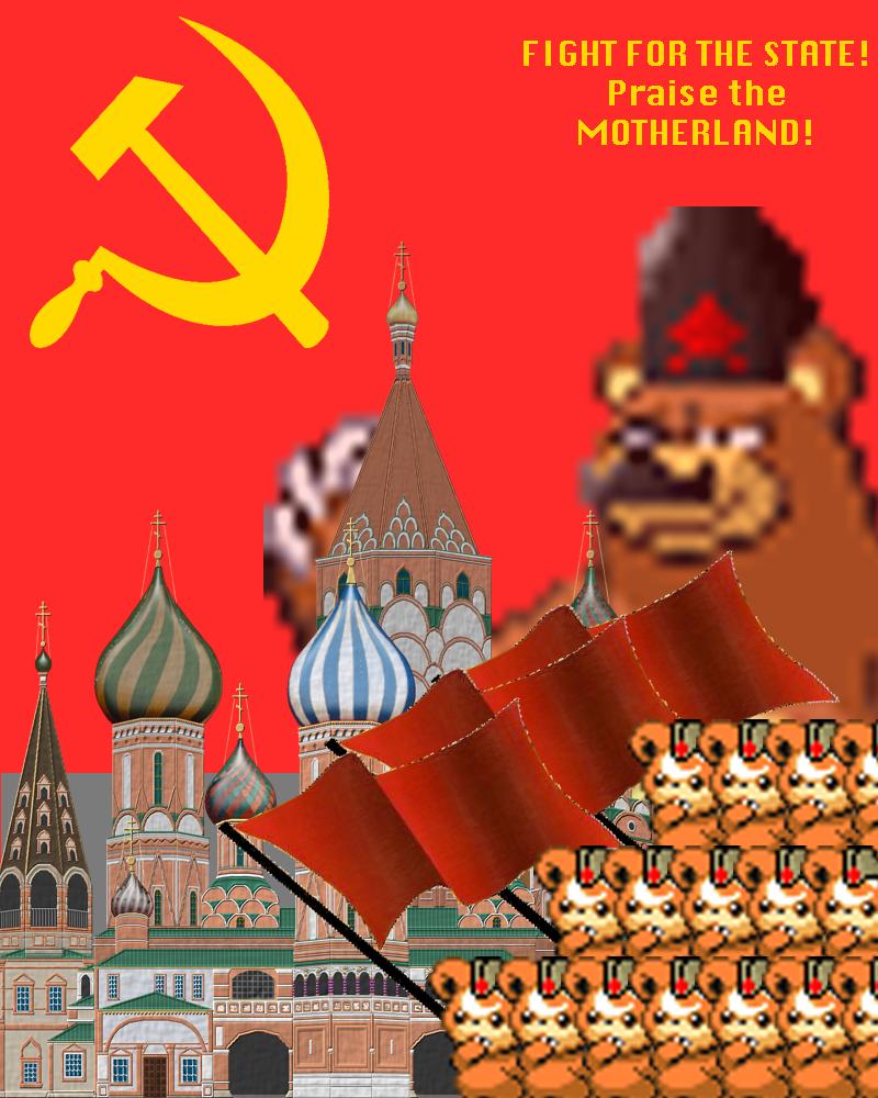 Pokemon Soviet Propaganda By GeneralHelghast