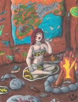 Jungle Yoko: Queen of Prehistora 11 by GeneralHelghast